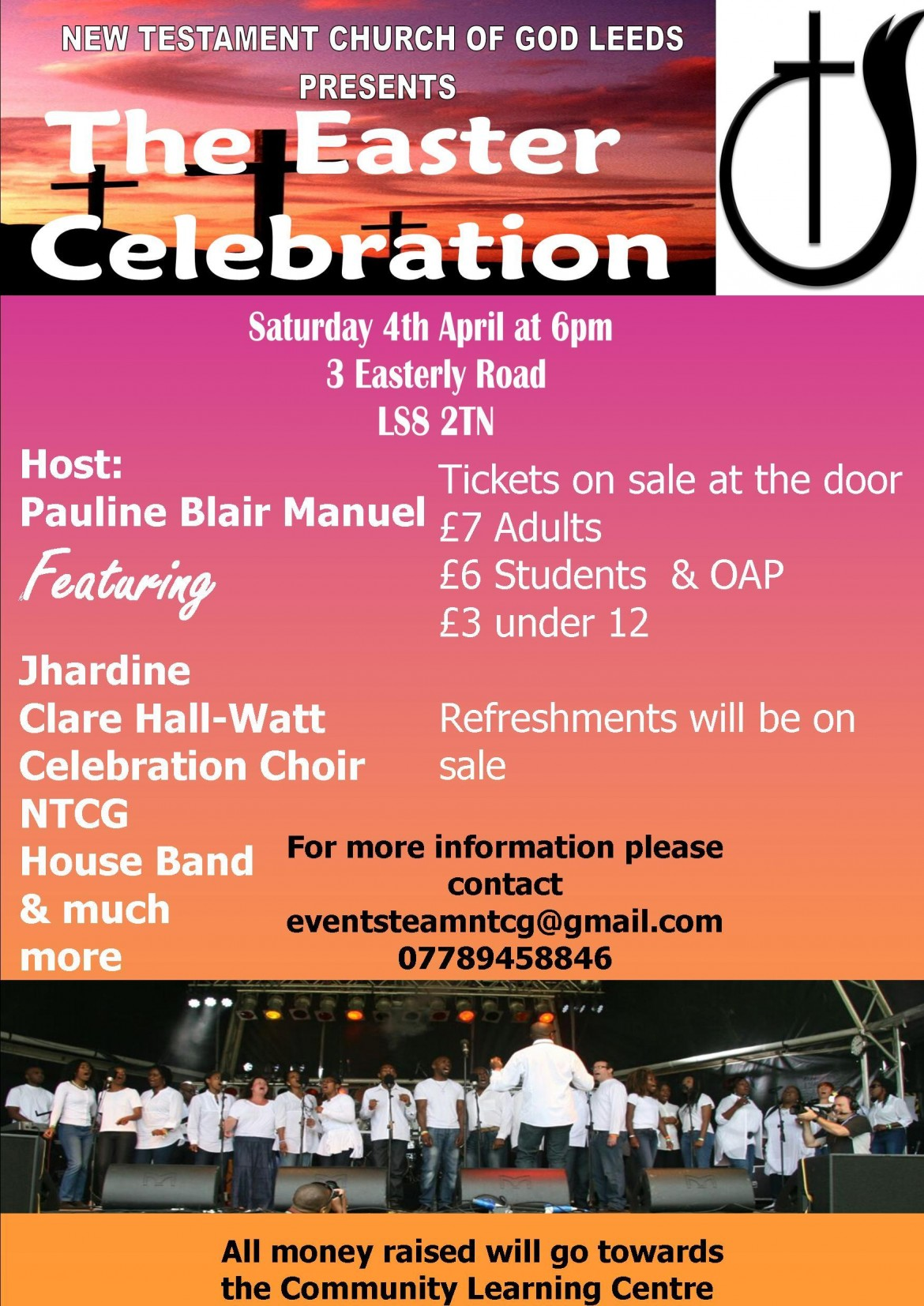 New Testament Church Of God Leeds Presents The Easter Celebration Saturday 4th April 2015