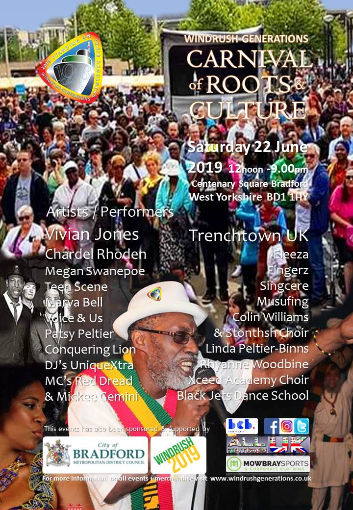 Windrush Generation's Carnival Of Roots And Culture